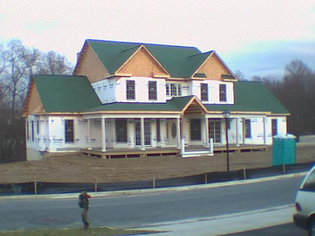 Custom-Built Home - Under Construction, Designed by Donald Gardner