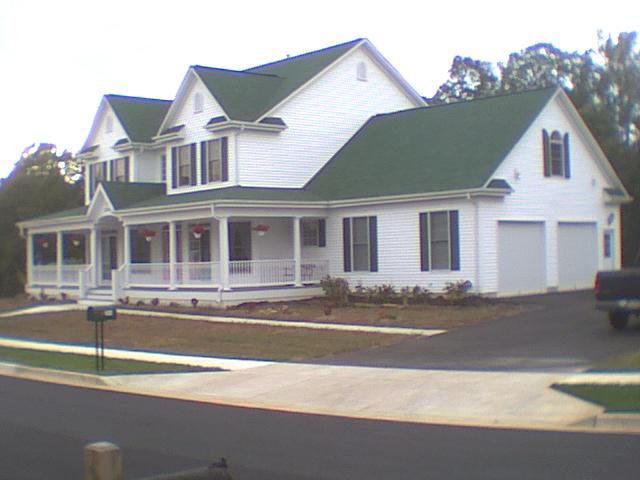 Custom-Built Home - 2003, Designed by Donald Gardner
