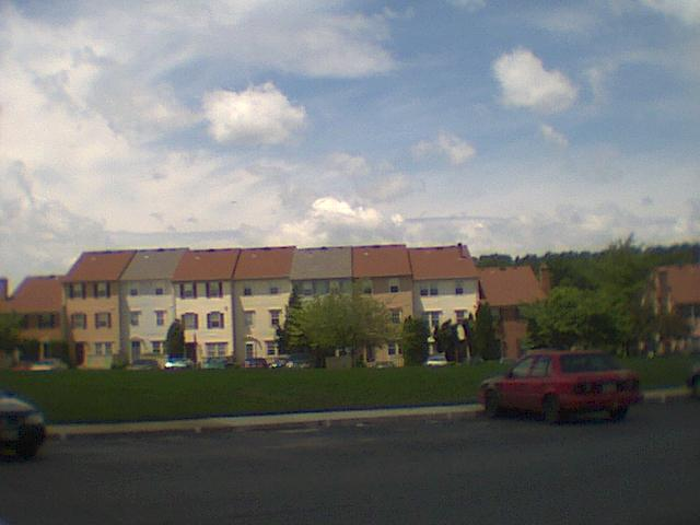 Townhomes, resembling what one might see in the Kentlands