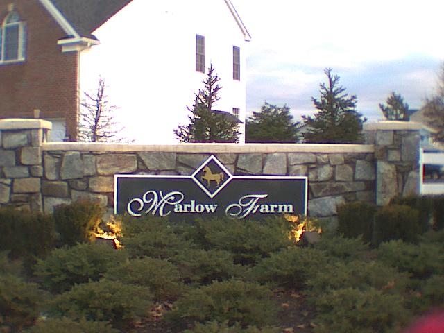 Marlow Farm Sign
